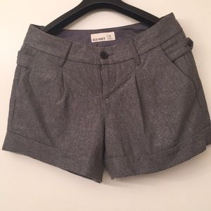 Winter wool shorts